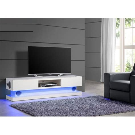 outdoor mobel design royal white high gloss finish plasma tv stand with led