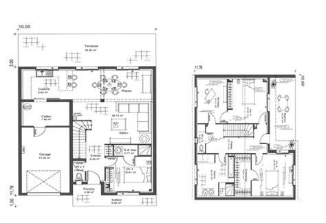 plan maison moderne avec etage 1 projets 224 essayer