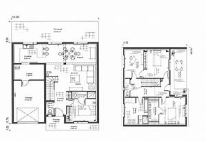 plan de maison etage avie home With awesome plan de maison 120m2 10 plan maison 120m2 mc immo