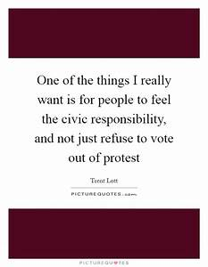 Vote Quotes | V... Civic Responsibility Quotes