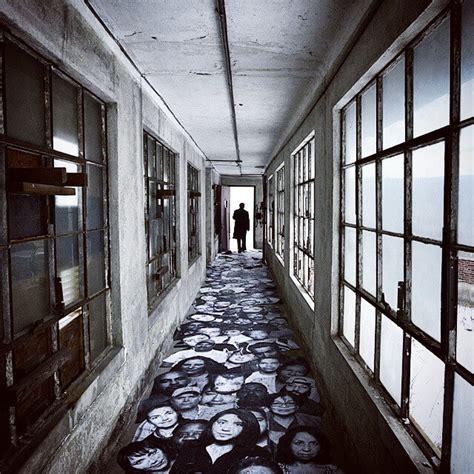 unframed photo exhibition   abandoned ellis island