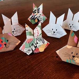 Hase Basteln Einfach : 10 minuten origami osterdeko ideen creatipster ~ Orissabook.com Haus und Dekorationen