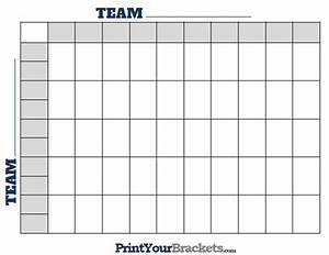 Game Bracket Template Printable 50 Square Football Grid Template