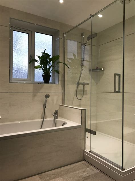 Mains Shower by Stylish Modern Bathroom From Curtis Brothers