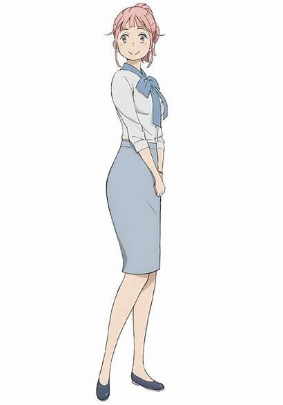 Balance Unlimited Keiji Fugou Characters Saeki Mahoro