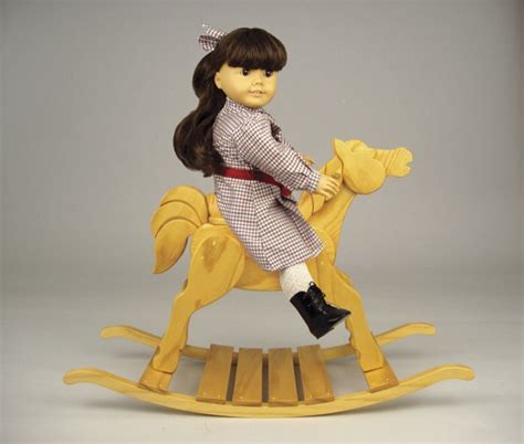 doll rocking horse woodworking plan woodworkersworkshop