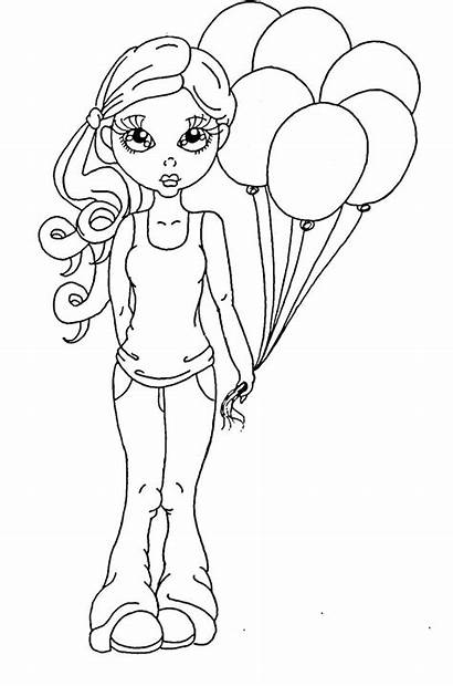 Stamps Digi Coloring Pages Markers Cuddlebug Cuties
