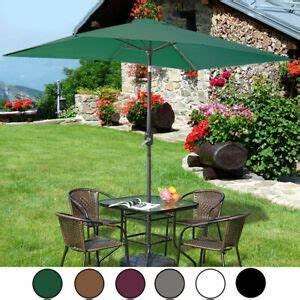 Sonnenschirm Halbrund Knickbar : rechteckig sonnenschirm gartenschirm balkonschirm marktschirm knickbar 200x300cm ebay ~ Watch28wear.com Haus und Dekorationen