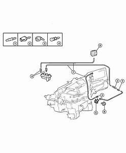 2010 Dodge Nitro Valve  A  C Vacuum Harness  Air