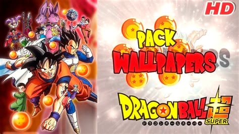 Pack De Wallpapers De Dragon Ball Super Hd