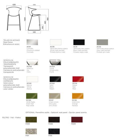 Misure Sgabello by Sgabello Infiniti Design Modello Loop Kitchen Stool