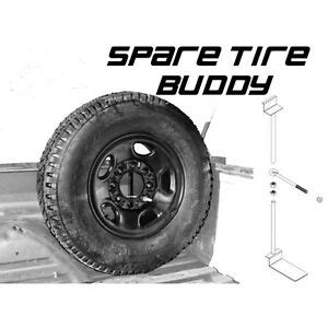 Truck Bed Spare Tire Carrier by Up Truck Spare Tire Mount Spare Tire Buddy Ebay