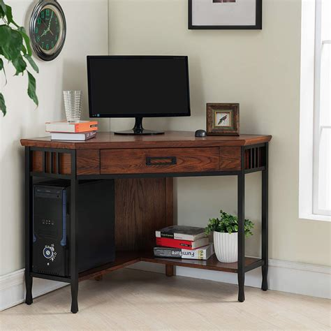 leick corner computer desk great for small spaces