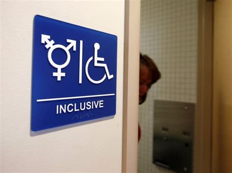 Gender Neutral Bathrooms by Nc Blocks Transgender Rights Bill Business Insider