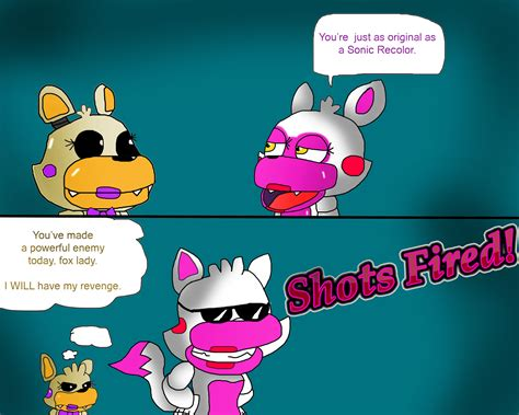 Mangle And Lolbit By Toad900 On Deviantart