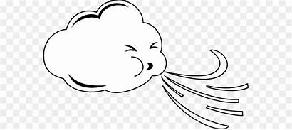 Windy Weather Clip Drawing Line Clipart Eye