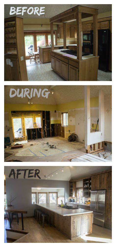 home remodel before and after house remodel before and after the big reveal the wanderlust kitchen