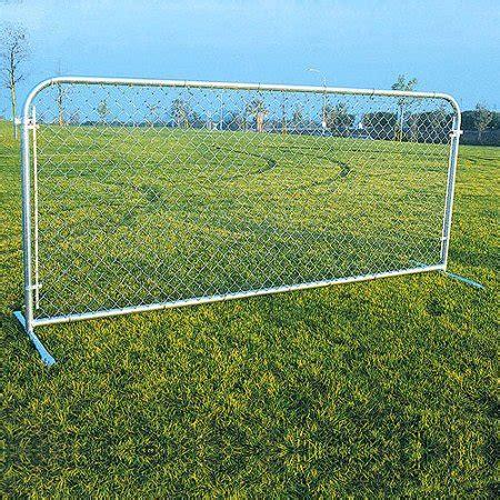 portable chain link fence panels silver walmartcom