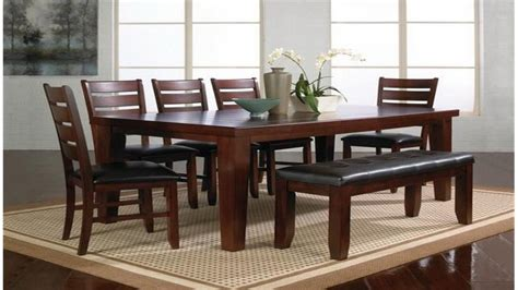 dining room furniture benches dining room table