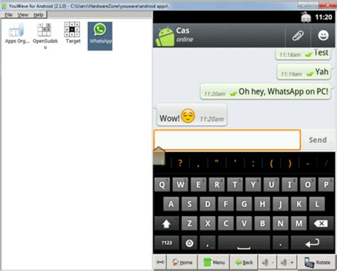 use whatsapp on your pc with android emulator hardwarezone sg