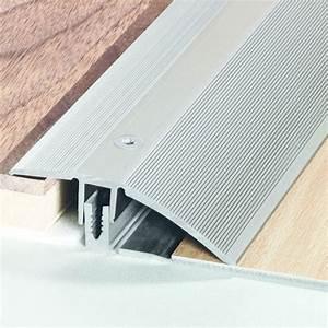 seuils de porte en aluminium pour revetements de sols romus With seuil de porte rattrapage de niveau