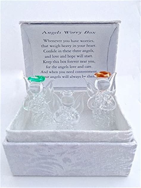angel worry box  glass angels buy   uae
