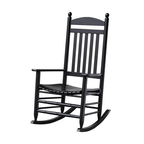 bradley black slat patio rocking chair 200sbf rta the
