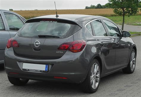 Opel Astra Hatchback by Opel Astra J