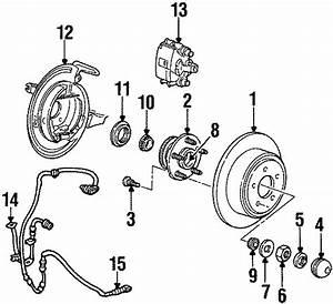 Ford Windstar Wheel Bearing Race  Front  Rear