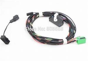 2018 Car Bluetooth Wiring Harness  U0026 Microphone For Rns510 Vw Tiguan Golf Mk6 Jetta Mk5 Passat B6