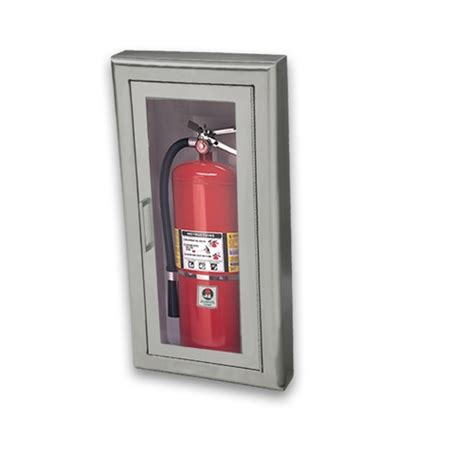 Semi Recessed Fire Extinguisher Cabinet Details by Jl Academy Aluminum 8127f10 Semi Recessed 5 Lbs Fire