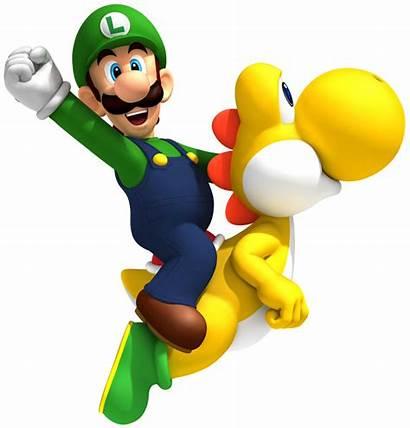 Luigi Clip Yoshi Mario Clipart Super Bros