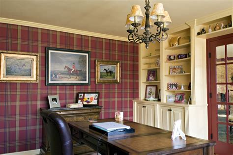 cozy and country style home office decoist