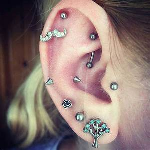67 Unique Ear Piercing Ideas That You Never Thought About