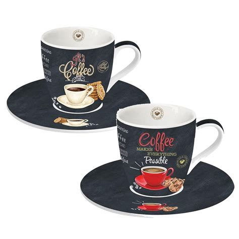 3038 espresso coffee cup set easy ardesia espresso cup and saucer set of 2 by