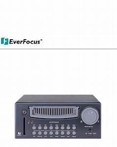 Everfocus Dvr Edsr400h User Guide
