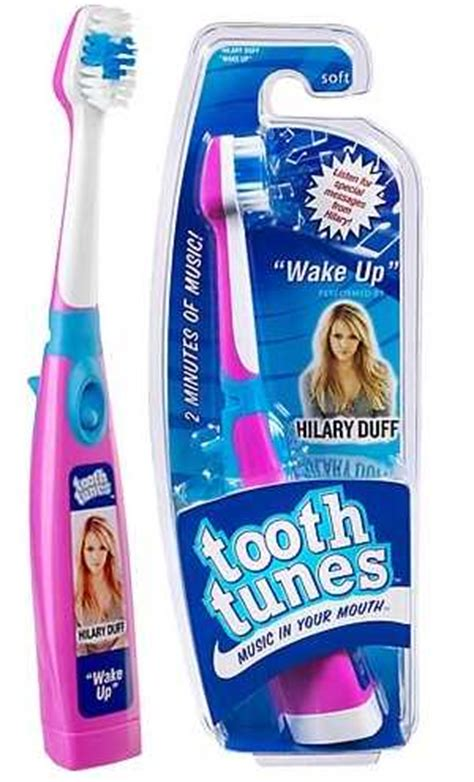 tooth tunes  toothbrush  playing  song chip