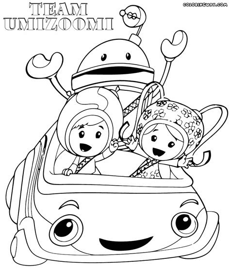 Coloring Umizoomi by Team Umizoomi Coloring Pages To Print At Getcolorings