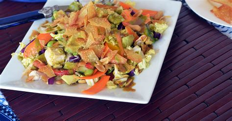 Copy Cat Cpk Thai Crunch Salad California Pizza Kitchen