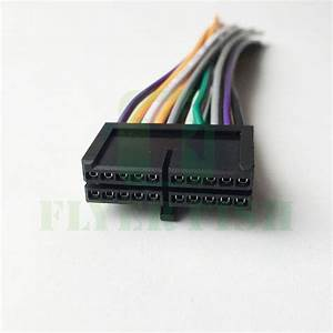 20 Pin Wire Radio Harness Power Plug For Diy Jensen Awm968