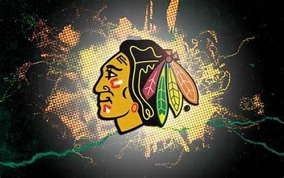 Blackhawks Chicago Wallpapers Hockey Desktop Unique Ice