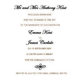 wedding invitation wording exles wedding invitation wording etiquette