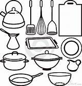 Cooking Utensils Drawing Kitchen Utensil Clipartpanda Clipart Terms Bowl sketch template