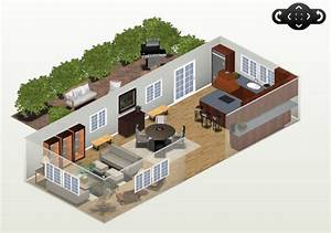 Aménager Un Petit Salon Salle à Manger : plan petit salon cuisine maison et mobilier ~ Farleysfitness.com Idées de Décoration