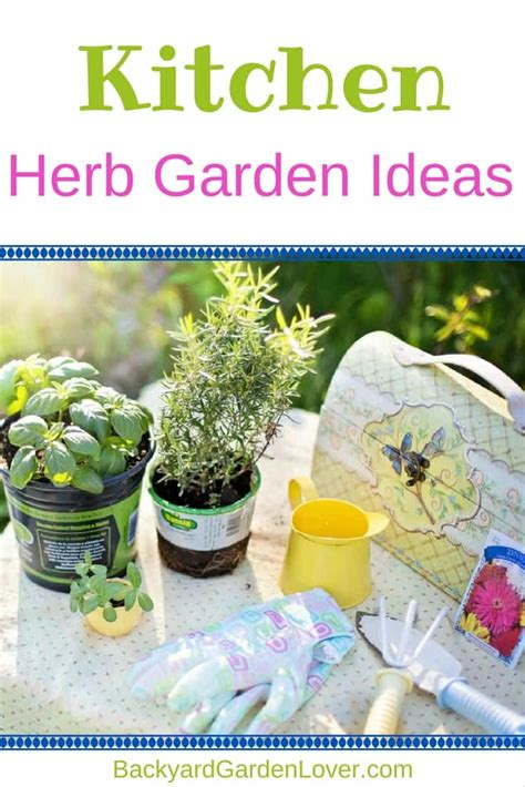 Kitchen In Your Garden by Kitchen Herb Garden Ideas