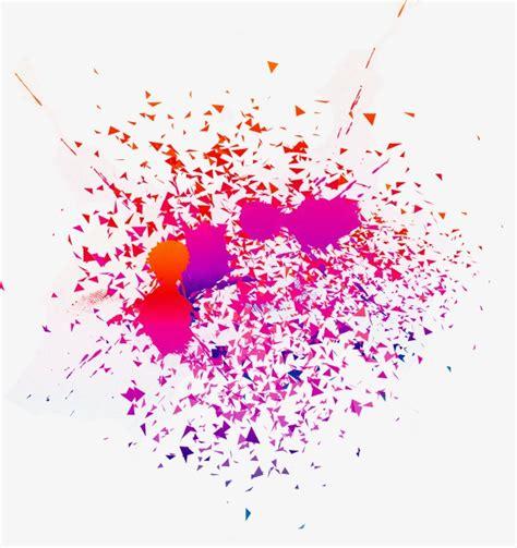 colorful splash effect splash clipart color png image