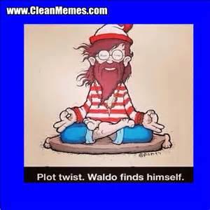 Where's Waldo Finds Himself Meme