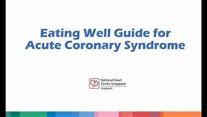 Eating Well Guide For Acute Coronary Syndrome  Acs