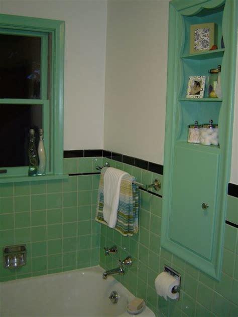 91 best green 1950's bathrooms images on Pinterest