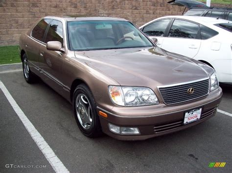 metallic lexus 1998 copper brown pearl metallic lexus ls 400 53279693